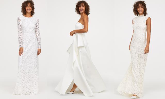 Med inslag från de kungliga bröllopen –här är H&M:s nya brudklänningar!