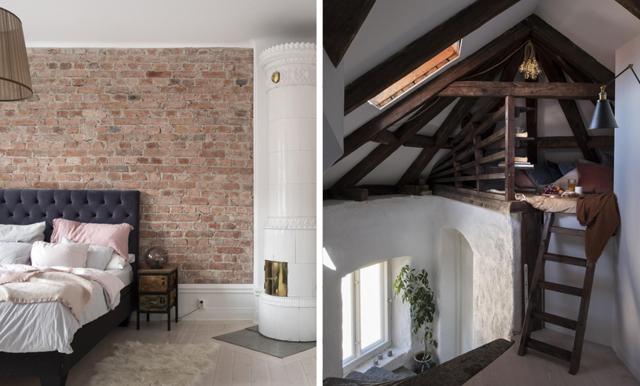Veckans hem är lägenheten som har en hemlig och supermysig träkoja