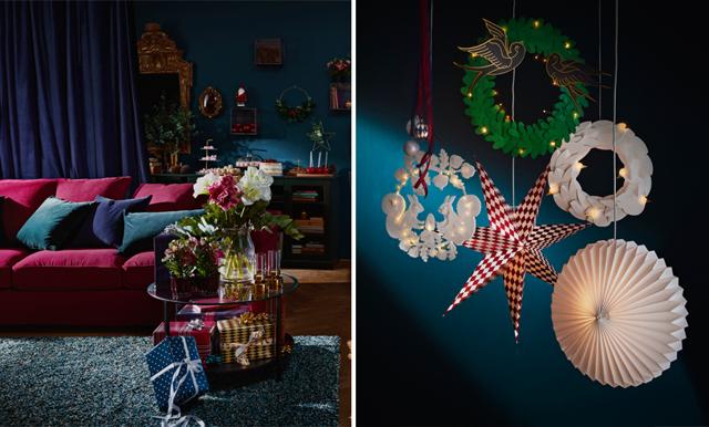 Sagolikt och magiskt - så ser julen ut på Ikea