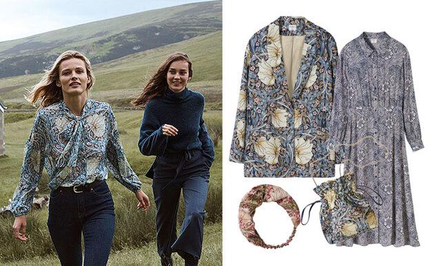 H&M gör kollektion med tapetdesignern William Morris – se alla plagg här