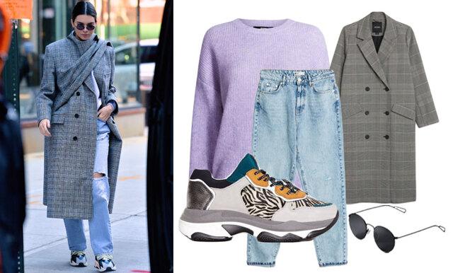 Ledigt, sportigt och trendsäkert – så klär du dig som Kendall Jenner i höst!