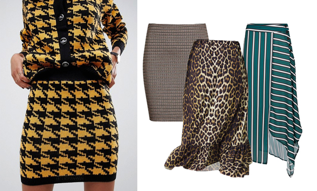 Maxa mönstertrenden –23 kjolar som fixar höststilen