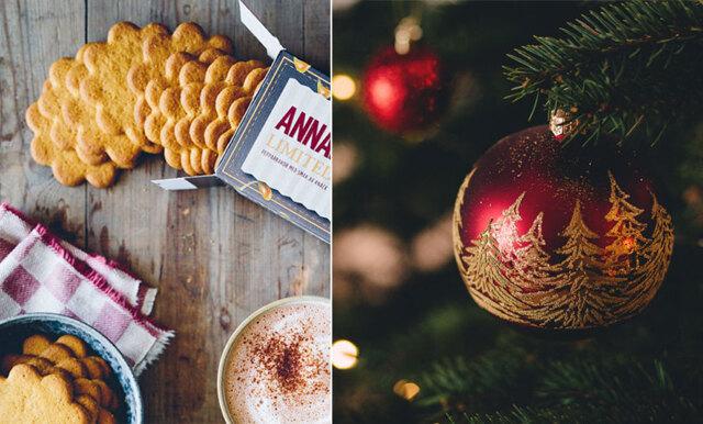 Julstämning deluxe – här är årets juliga smak på Annas pepparkakor