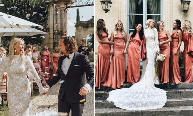 Petra Tungårdens drömhelg – här är bilderna från bröllopet i som varade i dagarna tre!