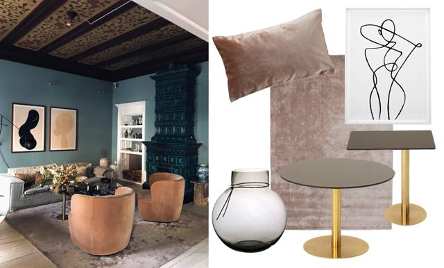 Lyxkänsla med hög trendfaktor – inspireras av Petra Tungårdens hem!