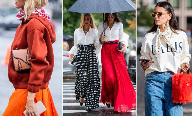 Så bär du sommartrenderna i höst – inspireras av 5 olika stilar