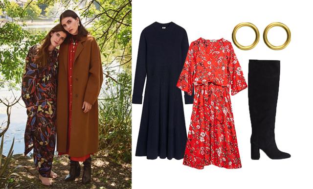 Behåll värmen och stilen – så stylar du klänningen i höst!