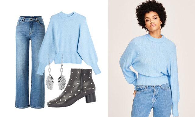 Så stylar du den stickade tröjan i höst – inspireras av 4 outfits