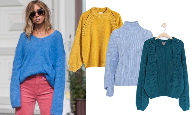 Sätt färg på hösten – 22 stickade tröjor under 300 kronor