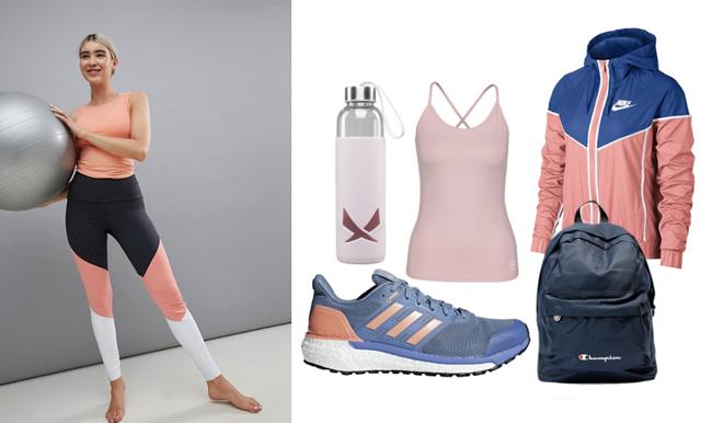Blått, rosa och lila – 20 drömmiga träningskläder som gör träningen lite roligare