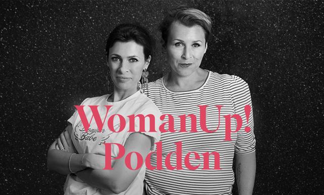 Hannah och Amanda i WomanUp-podden:
