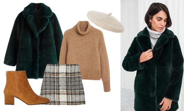 Brunt, mjukt och feminint – så vill Metro Modes Lisa klä sig i vinter