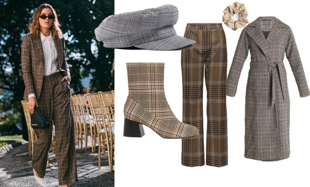 Rätt i rutor i vinter – plaggen som fixar trendigaste stilen