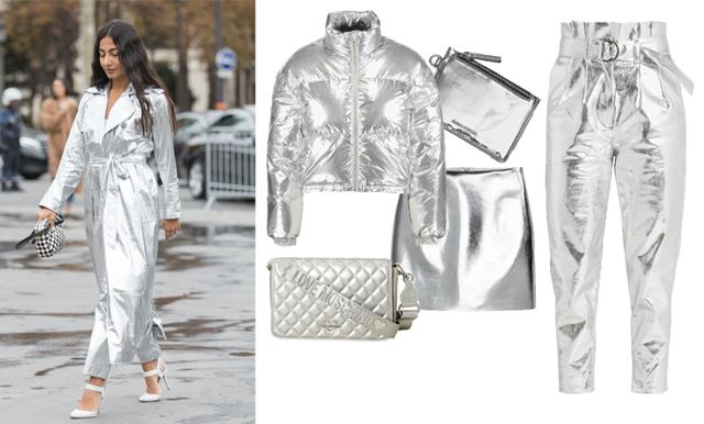 Silver är en av vinterns hetaste trender – plagg att haffa i butik