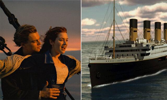 Åk båt som Kate och Leo – nu kan du resa med Titanic-kopian