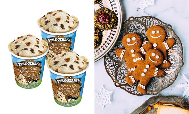 Juldrömmen! Nu lanserar Ben & Jerry en glass med pepparkaksbitar