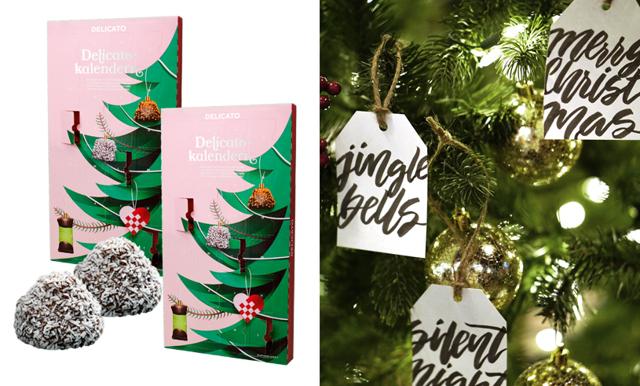 Räkna ner till jul med chokladbollar! Här Delicatokalendern