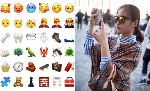 Apple släpper nyheter - här är alla 70 nya emojis!