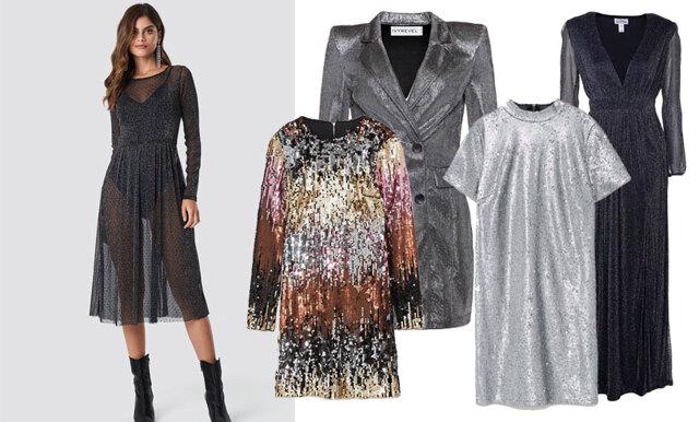 2 månader till nyårsafton - vi listar 18 glittriga klänningar!