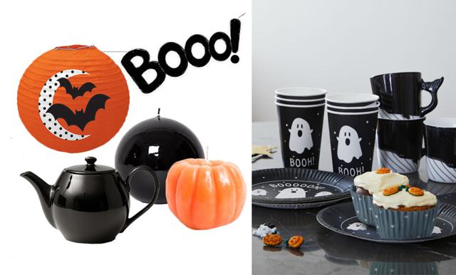 Orange och svart – 21 detaljer som fixar finaste halloweenfesten