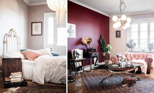 Lekfullt och spännande – lägenheten i Göteborg är en personlig pärla
