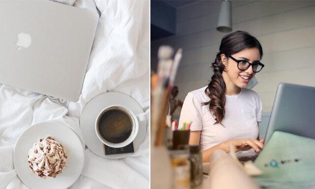 7 knep som hjälper dig att bli mer produktiv när du jobbar hemifrån