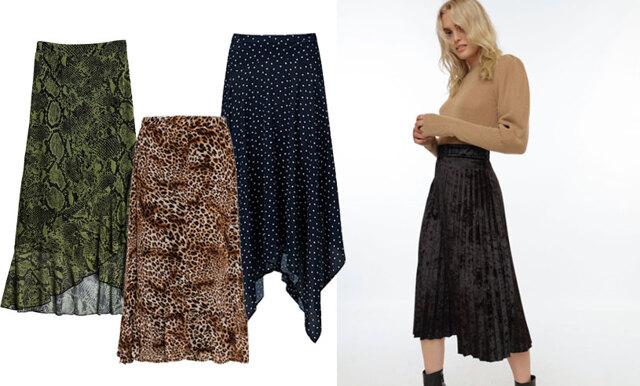 14 stilsäkra långkjolar att bära under höst- och vintersäsongen!