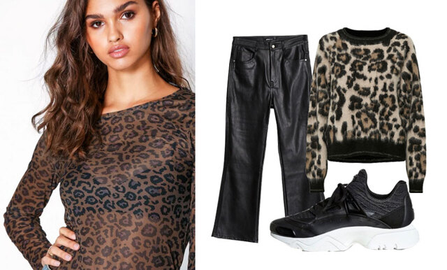 Matcha skinnbyxan med leopardtrenden – inspireras av 3 outfits!