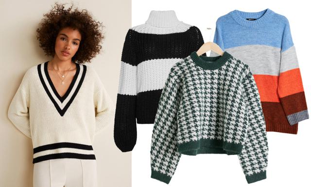 Stickade tröjor i mönster – 25 favoriter som lär sälja slut i höst