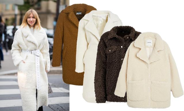 Rutigt, teddy och päls –här är jackorna vi vill bära i höst och vinter 2018