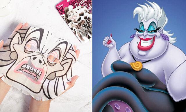 Ta hand om din hy med sheet masks – som skurkarna i Disney