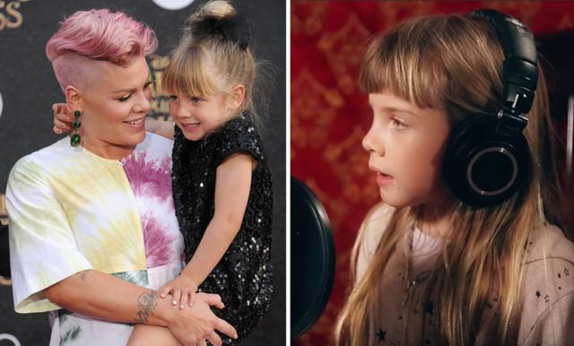 Pink och hennes dotter sjunger tillsammans och det är det finaste vi har sett!