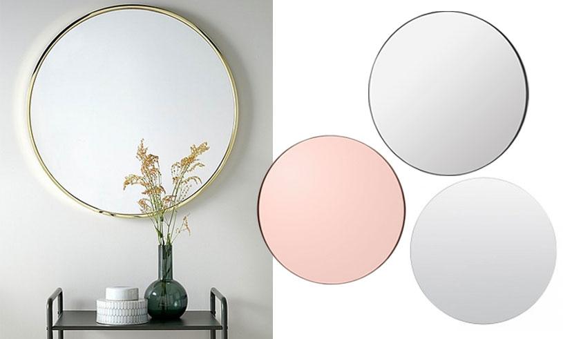Inredning-spegel-rund