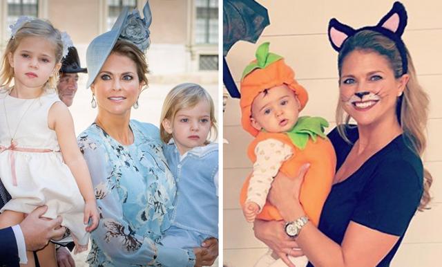 Prinsessan Madeleines halloween-hälsning med barnen är helt fantastisk!