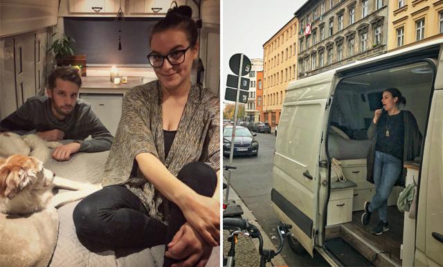 """Johanna och Tomas bröt normen och flyttade in i en bil: """"Vi väljer precis hur nästa dag ska se ut"""""""