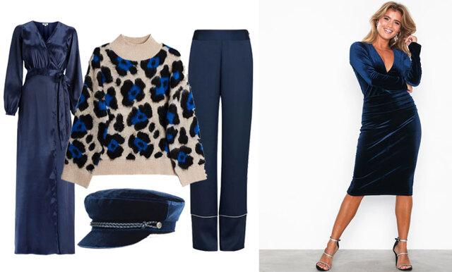 Haka på vinterns trendigaste färg – 23 modeköp i mörkblått!