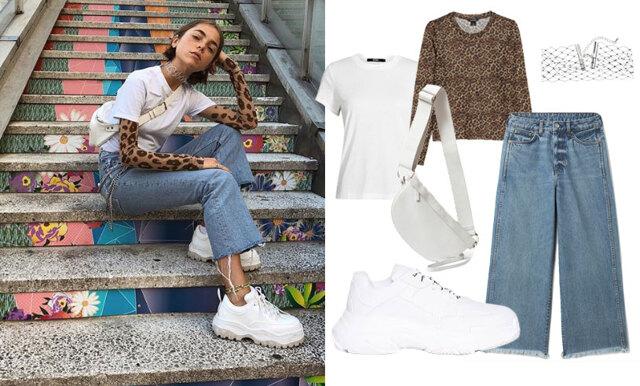 Lager på lager och chunky sneakers – sno stilen av Metro Modes Emma Fridsell!
