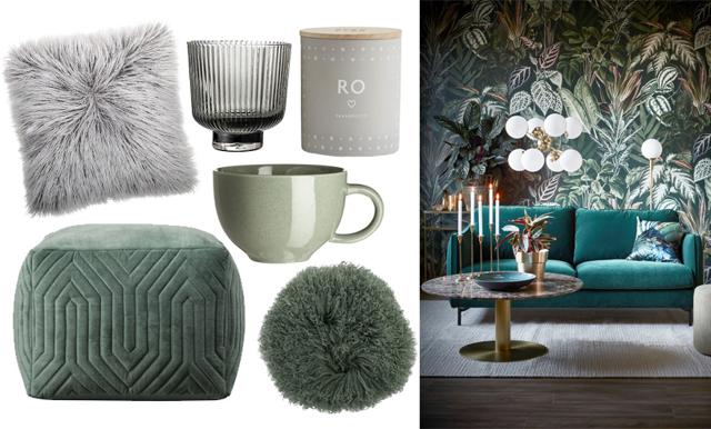 En harmonisk vinter – 16 mysiga köp i grått och grönt