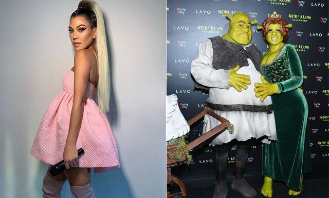 Shrek, Barbie och Drottning Elizabeth - så klädde kändisarna ut sig på halloween!