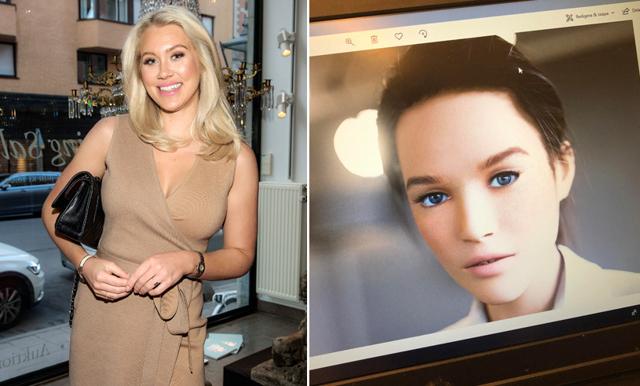 Isabella Löwengrip gör kloner av sig själv – visar nu upp den första