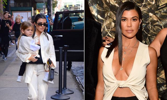 """Kourtney Kardashian utsatt för mom-shaming: """"Låt Reign vara en pojke"""""""