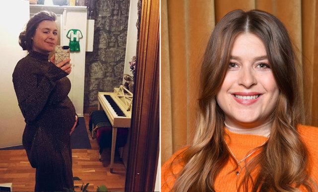Glädjebeskedet – Linnea Henriksson väntar barn!