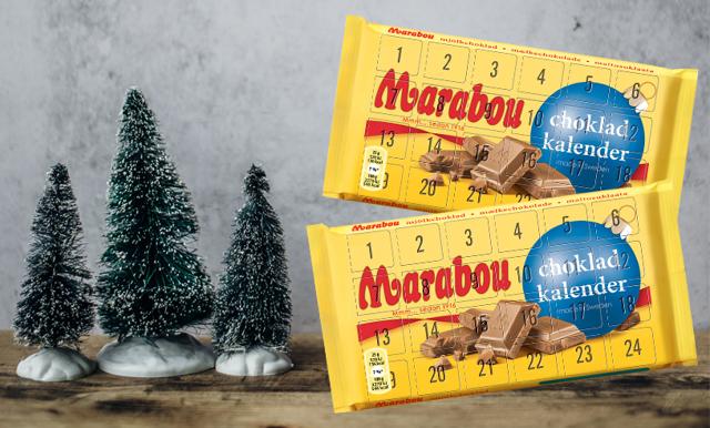 Drömmarnas kalender – nu lanserar Marabou en chokladkalender!