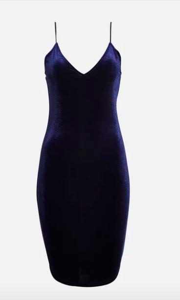 30 mörkblå festklänningar – perfekt till nyårsafton 2018! - Metro Mode c37cb0a38b6ac