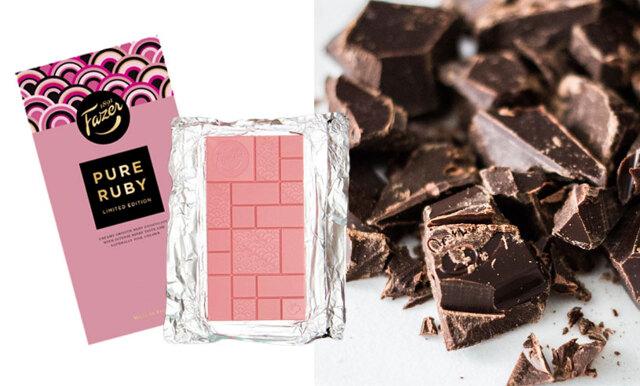 Drömmen – nu kan du köpa rosa choklad!