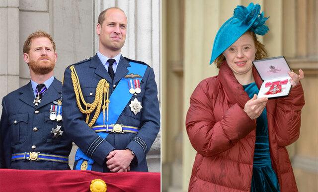 Skådespelerskan med Downs syndrom hyllas – prisas av det brittiska kungahuset