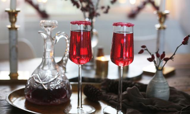 Glöggbellini är årets juligaste drink (du måste testa)!