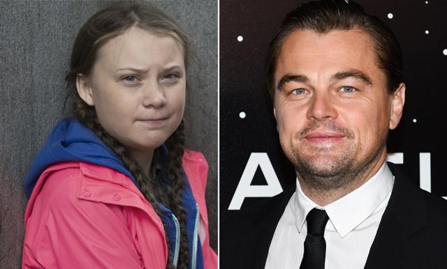 """Greta Thunberg hyllas av Leonardo DiCaprio: """"Väldigt häftigt att få gehör"""""""