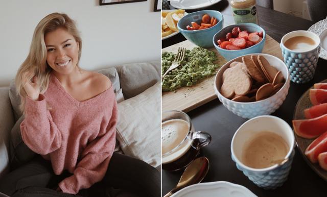 """Hanna Elfast blev vegan för 5 månader sedan: """"Det bästa jag gjort"""""""