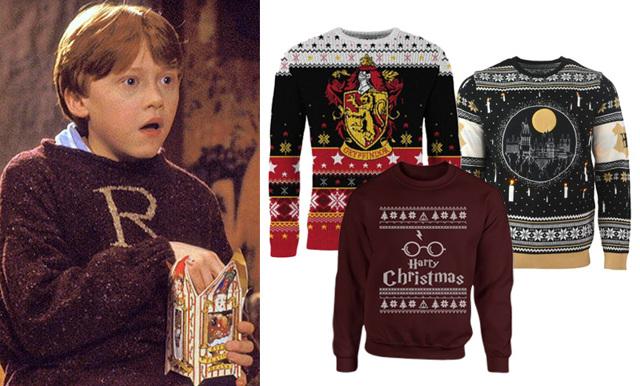 Juloutfiten är räddad! För här är 11 sjukt fina Harry Potter-jultröjor